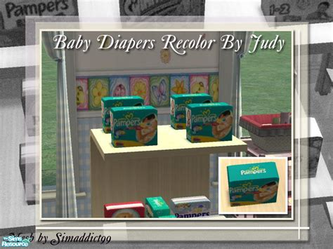 sims 4 babies diaper judyhugsnoopy s judy baby diapers pers 2