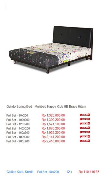 Bed Guhdo Bekasi harga guhdo bed harga bed termurah di