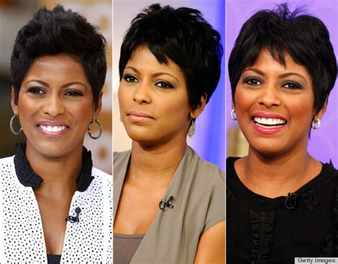 hair cuts on the today show tamron hall s today show style is spunky sophisticated