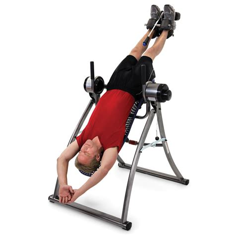 inversion bench touch of a button motorized inversion table gentle motion