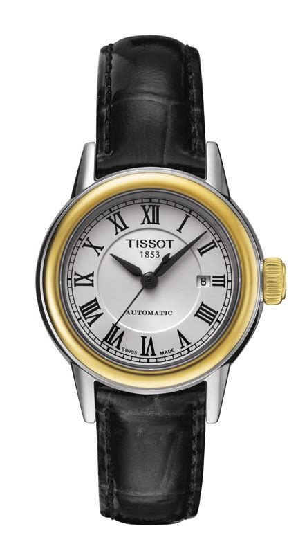 Tissot Carson Automatic White Stainless Steel T085 207 11 T085 207 26 013 00 Tissot Carson