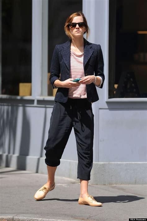 emma watson casual emma watson street style fashion pinterest blazers