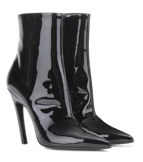 The Patent Leather Ankle Bootsaebe Still My by Mytheresa Patent Leather Ankle Boots Luxury