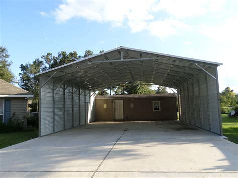 extra large  frame carport rb metal structures