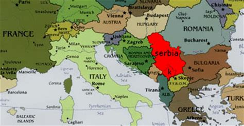 where is serbia located on the world map fabrik info for foreighners
