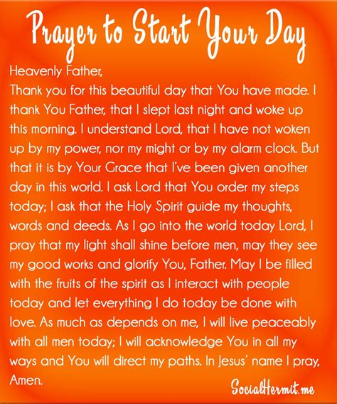 ways to start the church prayer to start your day a great way to begin your day
