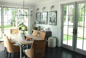Dining Room French Doors contemporary formal dining with french doors