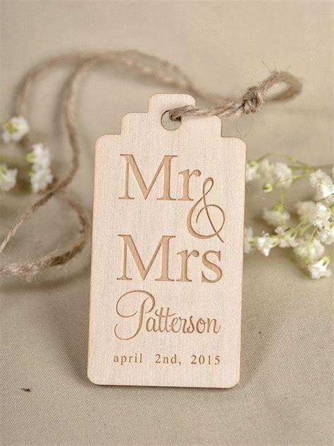 Wedding Gift Tags by Custom Listing 20 Custom Wooden Thank You Tag