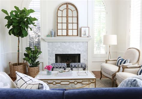 white and gold living room living room makeover park project studio mcgee