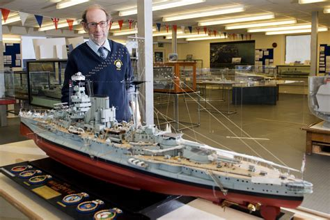 plymouth naval museum gold medal winning model at devonport naval heritage