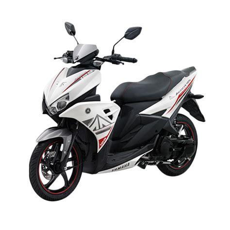 blibli yamaha aerox jual yamaha aerox sepeda motor putih otr bogor online