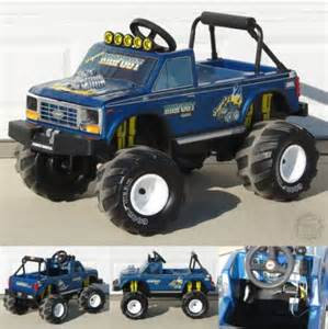 Custom Power Wheels Truck For Sale Bigfoot Power Wheels Modified Power Wheels Wtb Bigfoot