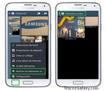 ver imagenes ocultas android como ocultar fotos archivos samsung j5 y j7 trucos galaxy
