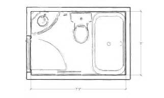 floor plan of bathroom studio boise residential and architectural design
