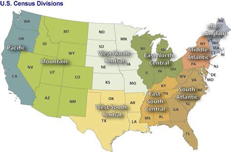 map us census regions residential energy demand temperature index redti