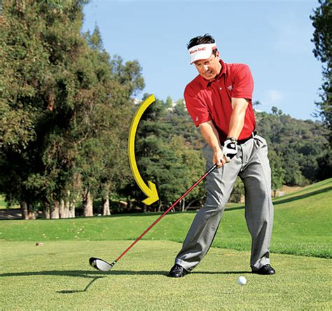 golf half swing get in sync marino s golf