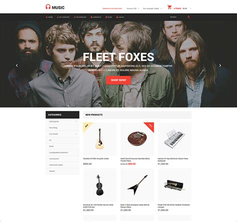 bootstrap themes free for music 15 music bootstrap themes templates free premium