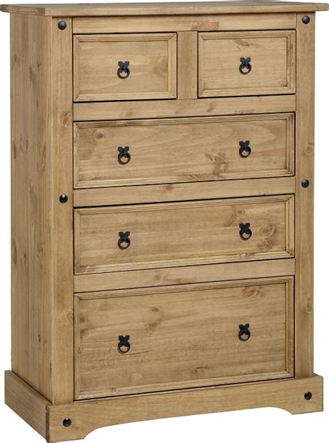 Chest Pf Drawers by Chest Of Drawers Pine Corona Bedroom Furniture Solid Wood