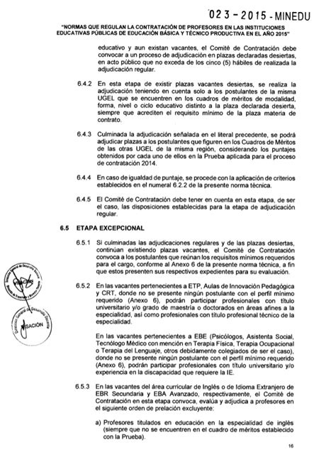 decreto supremo n 016 2015 minedu norma legal diario resoluci 243 n ministerial n 176 023 2015 minedu normas que