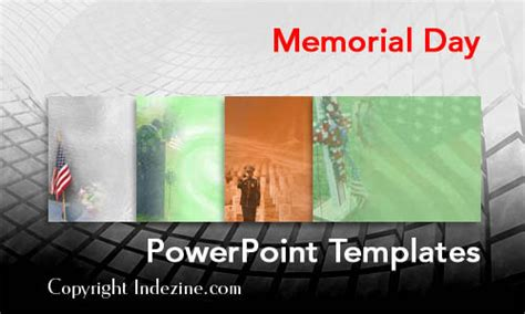 Memorial Day Powerpoint Templates Memorial Presentation Template