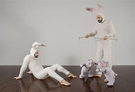 House Designing self portrait as bunnies by alex podesta ignant com