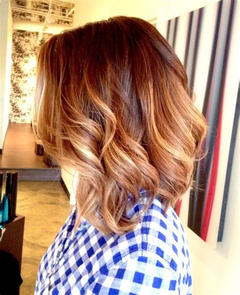 medium length hair with ombre highlights 15 cute everyday hairstyles 2017 chic daily haircuts for