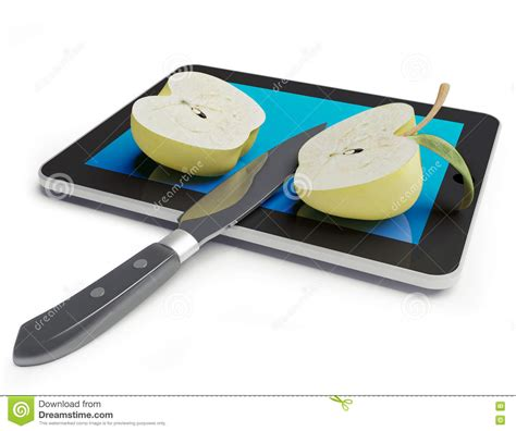 Tablet Pc Apple apple tablet pc stock image image 21770661