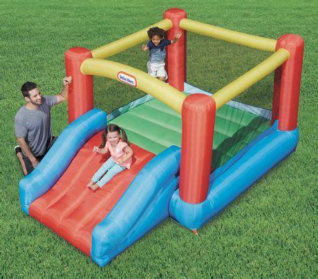 jump n swing little tikes jr jump n slide bouncer walmart ca