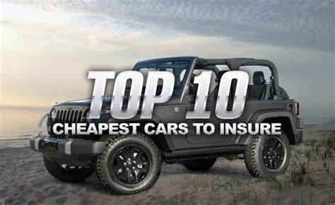 Cars With Cheapest Insurance Rates by Compare Car Insurance List Car Insurance Rates Cheapest