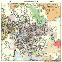 map escondido california escondido california map 0622804