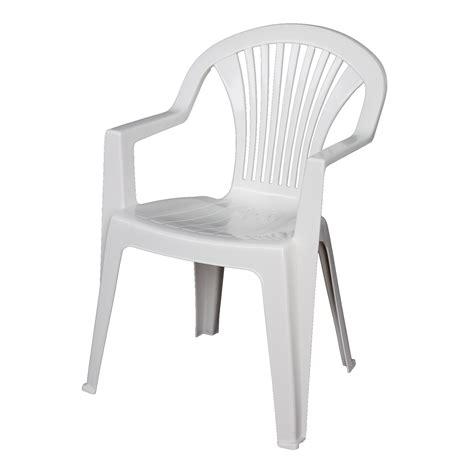 chaise de jardin blanche chaise de jardin en fer