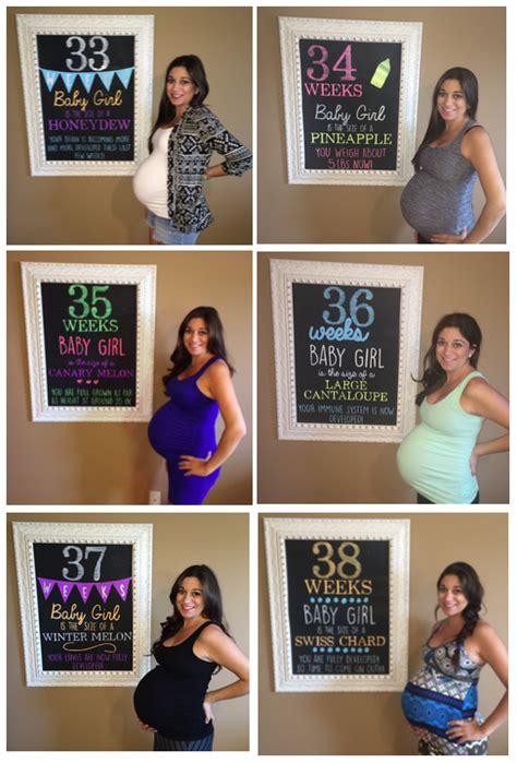 Weekly Pregnancy Chalkboard Signs!   Happy Girls are the ... $50 Visa Gift Card Png