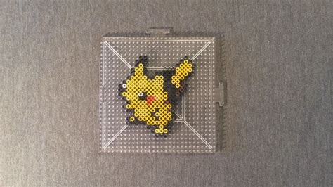 how to make out of perler perler bead pikachu