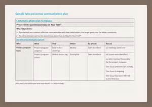 communications plan template excel bestsellerbookdb
