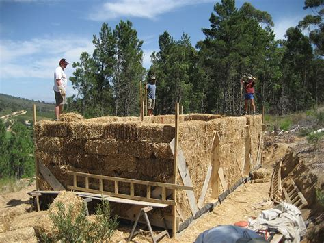 File Straw Bale House Jpg Wikimedia Commons Straw Bale House Planning Permission