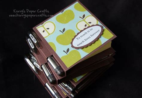 Post It Craft Paper - post it note holder for teachers gifts paper craft ideas