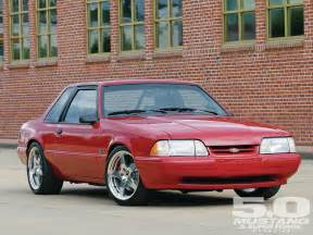 Ford Mustang 1993 1993 Ford Mustang Lx Generation Diy Photo Image Gallery