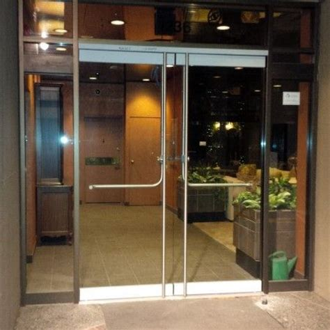 apartment building glass doors google search lobby