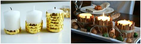 decorare candele per natale idee per decorare la tavola di natale feste e compleanni