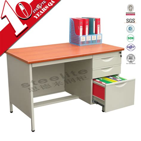 office desk with filing cabinet steel office desk with locked filing cabinet office