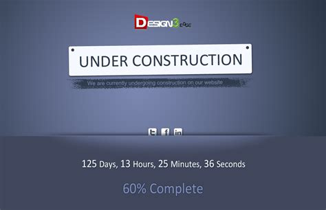 creative under construction template design3edge com