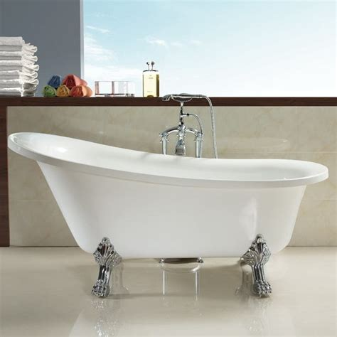 choose clawfoot tub for modern bathroom designs