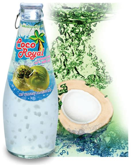 Rainbow Coconut Import Bangkok label coconut water products thailand label coconut water supplier