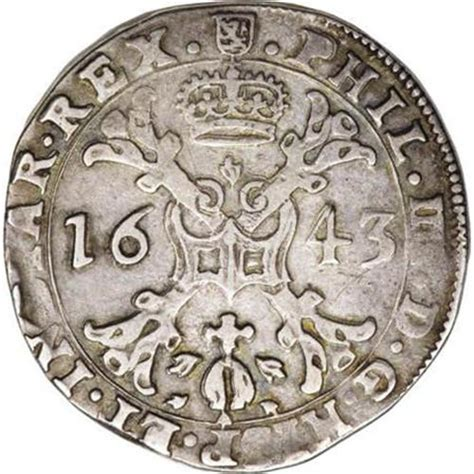 Lu Philip luxembourg philip v 1 2 patagon 1643 burgundy
