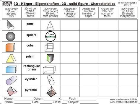 printable solid shapes worksheets 6 best images of solid figure nets printables 3d shape