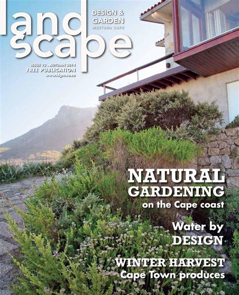 garten magazin landscape design garden magazine autumn 2014 by