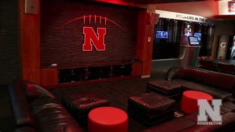 nebraska basketball locker room nebraska football locker room and player s lounge