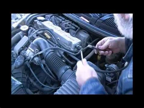 replacing the camshaft and crankshaft position sensors part 2 of 2 dodge stratus 2004 four