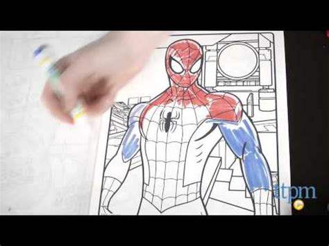 crayola giant coloring pages ultimate spider man color wonder marvel ultimate spider man activity set from