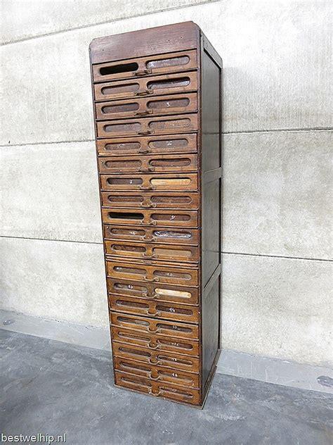 lade century ladenkast industrieel loft mid century design cabinet